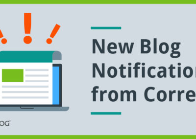 CorreLog: Blog Notifications